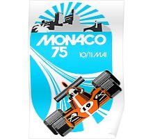 Monaco Grand Prix Poster Poster