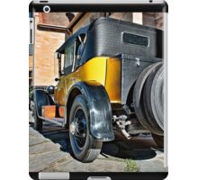 Gold Cadillac at Carrick Hill on a Duvet Cover iPad Case/Skin