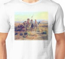 Charles Marion Russell - The Scouts Unisex T-Shirt