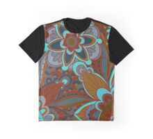 Retro, Boho Floral Graphic T-Shirt