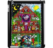 plushbunnies cuckoos clock iPad Case/Skin