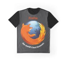 Firefox - The world's best Browser Graphic T-Shirt