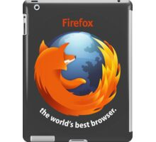 Firefox - The world's best Browser iPad Case/Skin