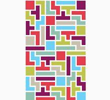 Tetris with pop colors Unisex T-Shirt