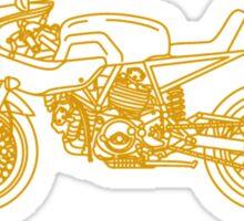 Construzione Superiore - Gold Sticker