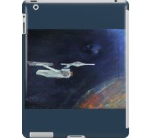 Starship Enterprise - from  Star Trek (TOS) iPad Case/Skin