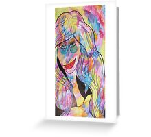 Groovy Chick Greeting Card