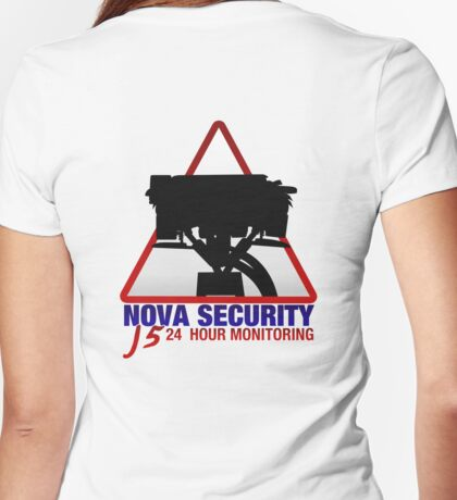 Nova Security - J5 24 hour monitoring Womens Fitted T-Shirt