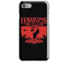 Hawkins AV Club iPhone Case/Skin