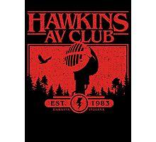 Hawkins AV Club Photographic Print
