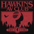 Hawkins AV Club by teevstee