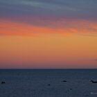 Sunset at Brighton Beach by Leonie Morris