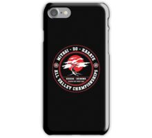 Karate Kid - Mr Miyagi Do inverse Variant iPhone Case/Skin