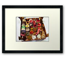 Sweets - Pastries Framed Print