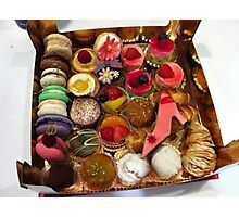 Sweets - Pastries Photographic Print