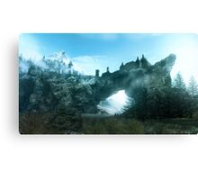Solitude in Skyrim Canvas Print