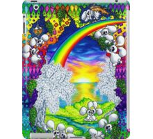 albino plushbunny world iPad Case/Skin