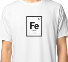 Flat Earth Periodic Classic T-Shirt