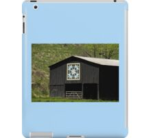 Kentucky Barn Quilt - Snow Crystals iPad Case/Skin