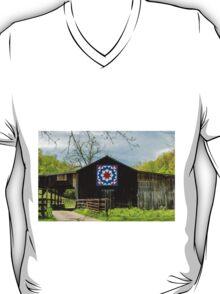 Kentucky Barn Quilt - Carpenters Wheel T-Shirt