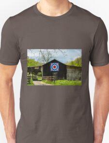 Kentucky Barn Quilt - Carpenters Wheel Unisex T-Shirt