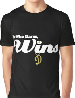 He who dares wins - Only Fools and Horses Graphic T-Shirt