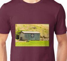 Kentucky Barn Quilt - Americana Star Unisex T-Shirt