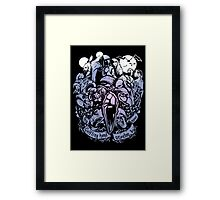 Sundered and Undone Framed Print