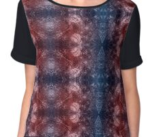 Abstract winds Chiffon Top