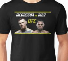 McGregor vs Diaz 2 Unisex T-Shirt