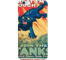 Army Recruiting Poster - World War I iPhone Case/Skin