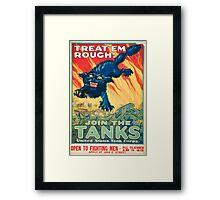 Army Recruiting Poster - World War I Framed Print