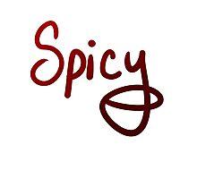 Spicy! Photographic Print