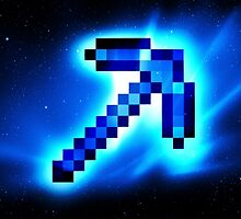 Minecraft Pickaxe by creeper128
