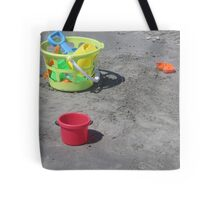 Beach Toys Tote Bag