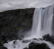 Boring waterfall by sorter