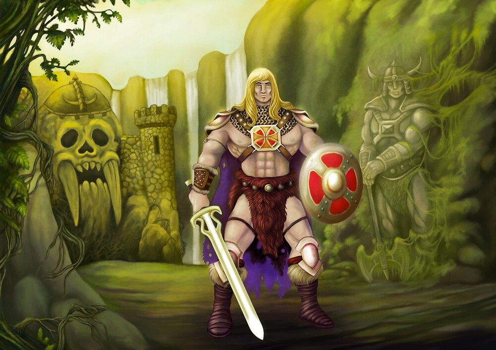 He-Man, Guardian of Grayskull by Crusader