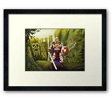 He-Man, Guardian of Grayskull Framed Print