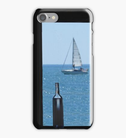 Beach bar. iPhone Case/Skin