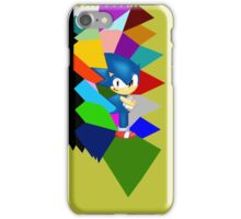 Sonic technicolor mosaic (UNOFFICIAL) iPhone Case/Skin