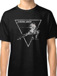 Cyborg Ninja Vintage Emblem Classic T-Shirt