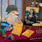 Lionnardo da Vinci by Wil Zender