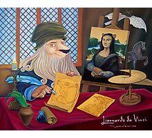 Lionnardo da Vinci Photographic Print