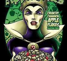 The Evil Queen's Apple Bites by Gilles Bone