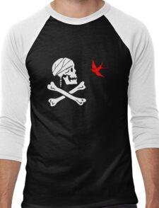 The Flag of Captain Jack Sparrow Men's Baseball ¾ T-Shirt
