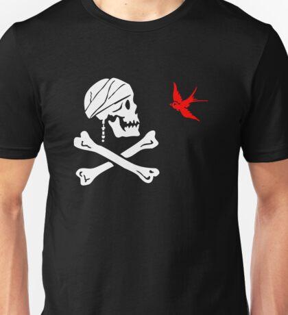 The Flag of Captain Jack Sparrow Unisex T-Shirt
