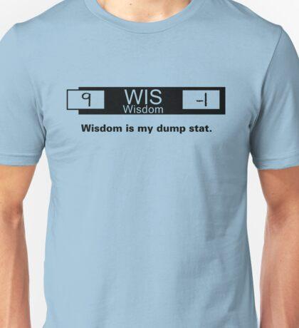 My Dump Stat - Wisdom T-Shirt