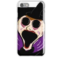 crazy eyes locked out iPhone Case/Skin