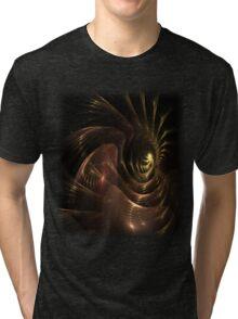 Burgundy 1 Tri-blend T-Shirt