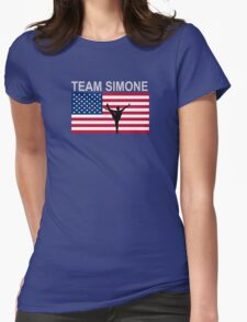 Team Simone - Gymnast t-shirt Womens Fitted T-Shirt